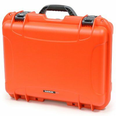Nanuk 930 Hard Case with Cubed Foam (Orange)