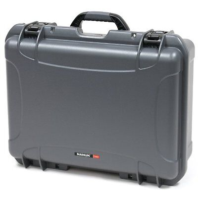Nanuk 940 Case with Cubed Foam (Graphite)