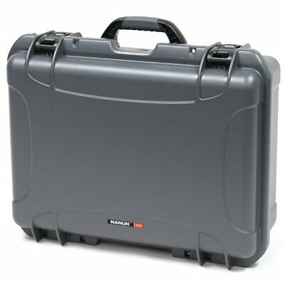 Nanuk 940 Graphite Hard Case with Padded Divider