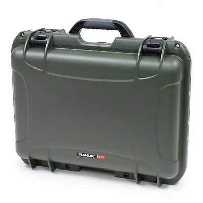 Nanuk 925 Hard Case with Padded Divider (Olive)