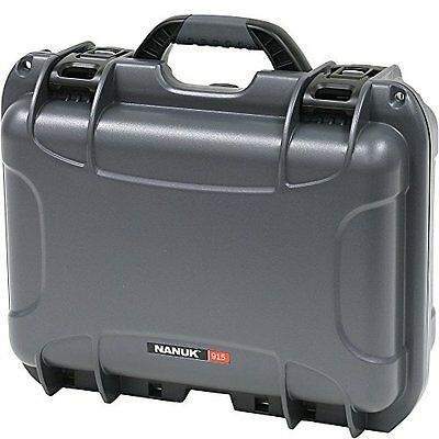 Nanuk 915 Hard Case with Padded Divider (Graphite)