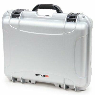 Nanuk 930 Hard Case with Cubed Foam (Silver)