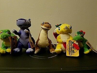 The Land Before Time Plush Collection Dinosaur Toy Network Christmas Holiday NWT