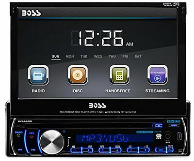 BOSS AUDIO BV9986BI Single-DIN 7 inch Motorized Touchscreen