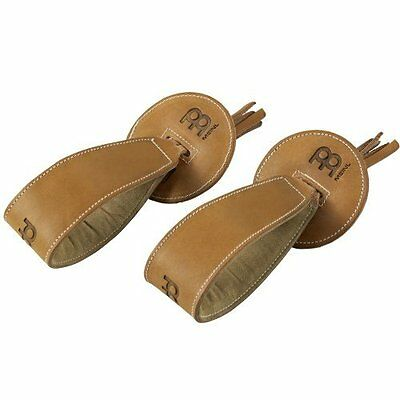 Meinl Cymbals BR5 Professional Leather Cymbal Straps, Pair