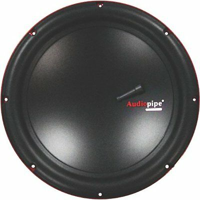 """New AUDIOPIPE TS-VR8 8"""" 350W Car Audio Power Subwoofer DVC P"""