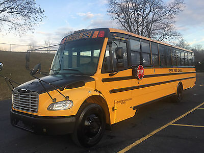 2008 Thomas Safe-T-Liner C2 71pass School Bus-Fleet owned, Only 85Kmi-No Reserve