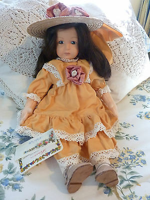 "Rare LENCI 19"" Angela Bed Doll, Limited Edition #45/499 with Tags & COA"