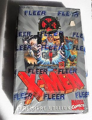 1994 Fleer X-MEN Premier Trading Cards sealed BOX unopened WOW!