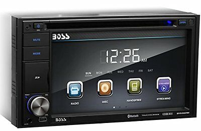 Boss BV9362BI Bluetooth-Enabled In - Dash Double - Din DVD/MP3/CD AM/FM Receiver