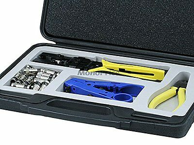 Monoprice Professional Waterproof Connector Tool Kit (107053