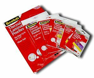 3M Laminating Pouch Kit With All varieties of Laminating Pou