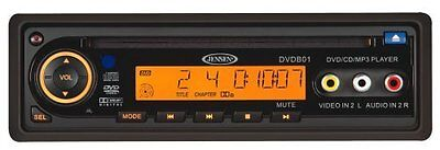 Jensen DVDB01 DVD Player 12V, DIN Mount, Remote Control, Pla
