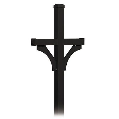 Salsbury Industries 4872BLK Deluxe  2 Sided  in Ground Mount