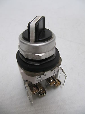 Allen-Bradley Two Position Maintained Selector Switch Cat. 800T-H2 Ser T