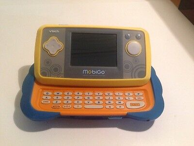 V-Tech Mobigo 1 Touch Learning System Blue & Yellow
