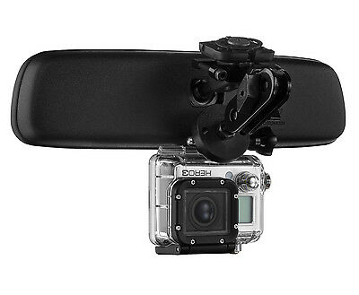 Mirror Mount Camera Bracket - Compatible with GoPro