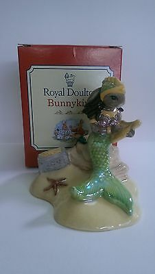 Royal Doulton Bunnykins, DB263, Mermaid Bunnykins. Mint Condition.