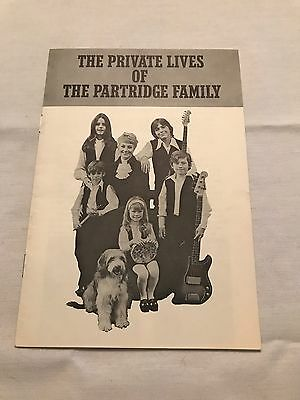 The Private Lives of the Partridge Family Booklet