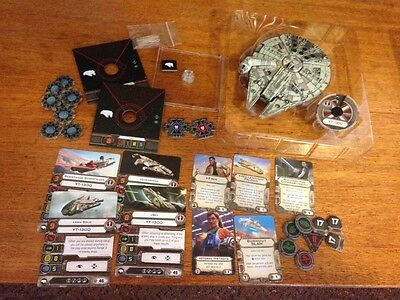 X-wing Miniatures Millennium Falcon (Heroes of the Resistance, loose)