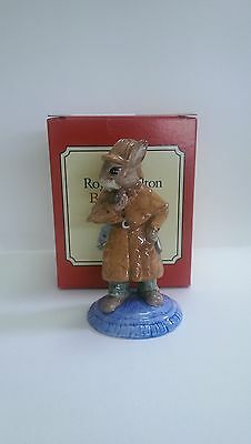 Royal Doulton Bunnykins DB193, Detective Bunnykins. Mint Condition.