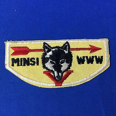 Boy Scout OA Minsi Lodge 5 F1 First Flap Order Of The Arrow Pocket Patch