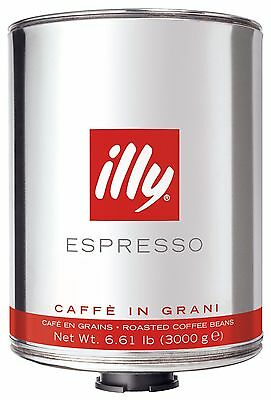 illy coffee beans 6kg box - NEW stock - bb. Feb2018