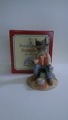 "Royal Doulton Bunnykins DB236, ""Waltzing Matilda."" Mint Condition."