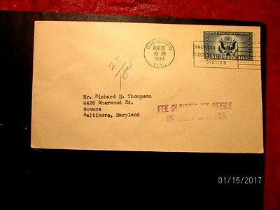 CE1 8/30/34 Chicago FDC, VF, cat. 25.00