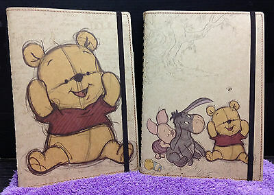 New Winnie The Pooh Schedule Note Book Bear Diary Journal Travel Pocket Bag Gift