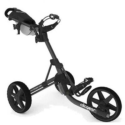 New Clic Gear Model Clicgear 3.5+ Golf Push Cart - Charcoal Black