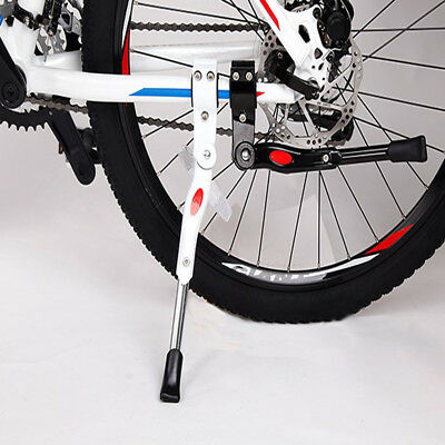 Adjustable MTB Bicycle Cycling Bike Curve Alloy Stand Side Support Foot Brace