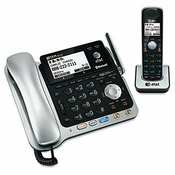 AT&T TL86109 Two-Line DECT 6.0 Phone System W/ Bluetooth Hea