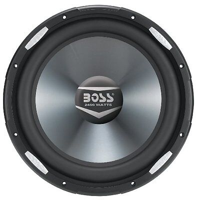 Boss Audio AR12D 2400 Watts 12-Inch Dual 4-Ohm Voice Coil Subwoofer