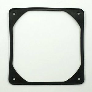 Coolerguys 140mm Anti-Vibration Rubber Fan Gasket - Black