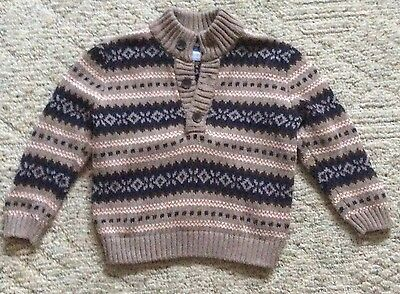 Janie And Jack Fall 2015 Pullover Sweater 18-24 Months