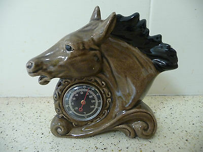 Vintage Thermometer - Horse head