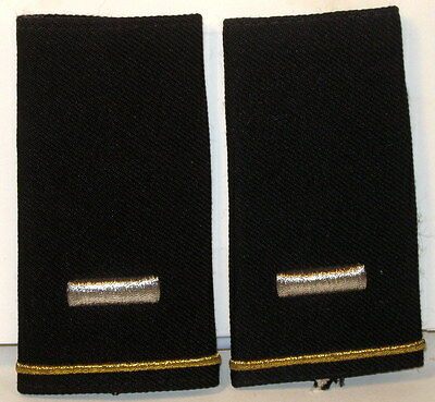 US Army First LT Epaulet Soft Shoulder Boards Large Size for Dress Blues