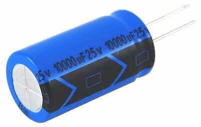 Capacitor Aluminum Electrolytic 100Uf 25V 20% Radial Lead