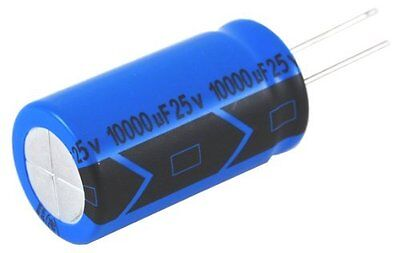 Capacitor Aluminum Electrolytic 1000Uf 10V 20% Radial Lead