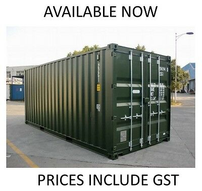 SALE PRICE NEW BUILD 20ft Shipping Container Ex Melbourne