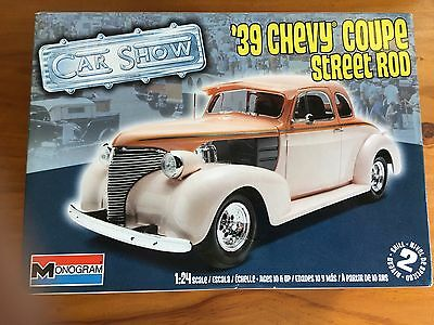 1:24 Scale Model 39 Chevy Coupe Street Rod