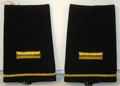 US Army 2nd LT Epaulet Soft Shoulder Boards Small Size for Dress Blues