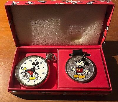 Ingersoll Limited Edition Mickey Mouse Pocket Watch Limited Edition 5,000 NEW