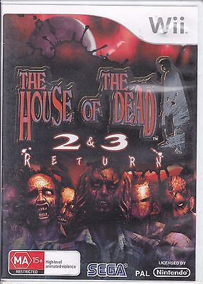 The House of the Dead 2 and 3 Return    # Nintendo Wii /  Tested / PAL #