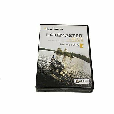Humminbird Lakemaster Minnesota Contour Electronic Map, Blac