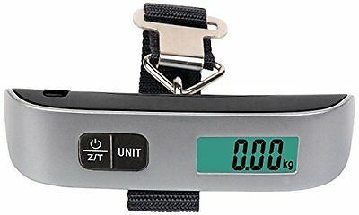 Camry 5 x 1.18 Inches Digital Luggage Scale, Silver (EL10-31