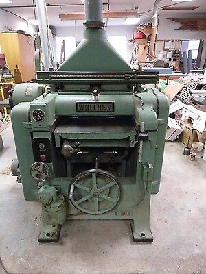 """Whitney S-205 Planer 24"""" With Knife Grinder"""
