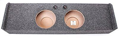 Q Power FORD10 2009DF Dual 10-Inch Custom Fit Speaker Box for Ford F150 Xca