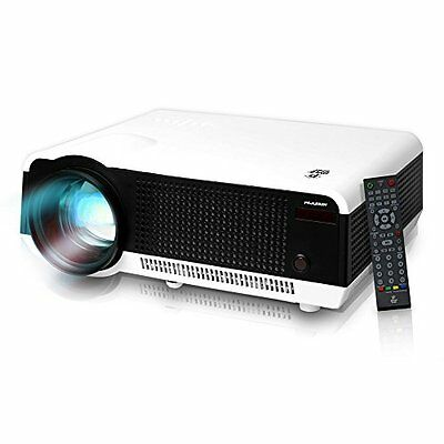 Pyle PRJLE82H LED HD Projector with 1080p Support Built-In Speakers and USB